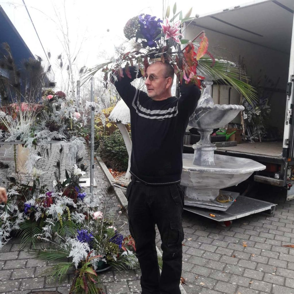 Florale Dekoration Spielbank Lübben