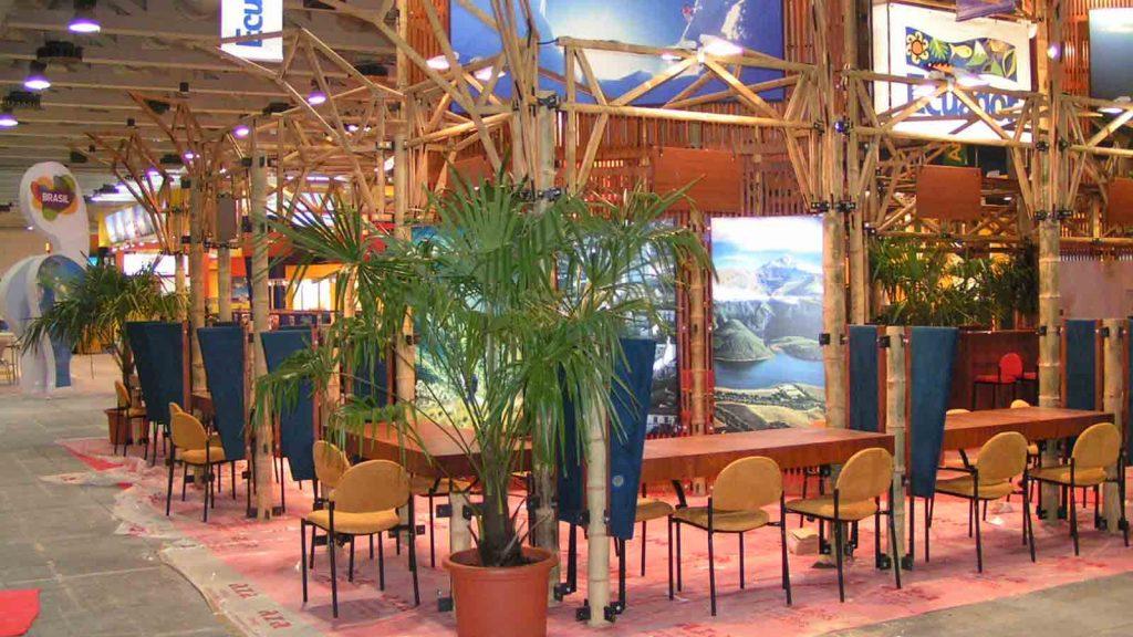 Mietpflanzen: Palmen für die ITB